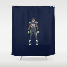 Twelfth Man - Richard Sherman Shower Curtain