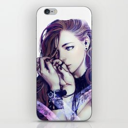 Thinking of you iPhone Skin