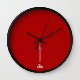 Ares Demigod Wall Clock