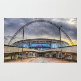 Wembley stadium London Rug