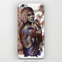 Lara ink by carographic, Carolyn Mielke iPhone Skin