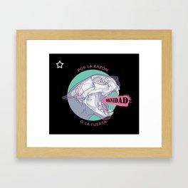Puma uprising Framed Art Print