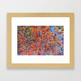 tHE pRESTIDIGITATOR Framed Art Print