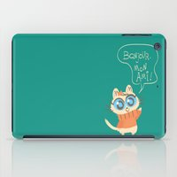 bonjour iPad Cases featuring Bonjour by AronDraws