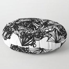 eye doodle Floor Pillow