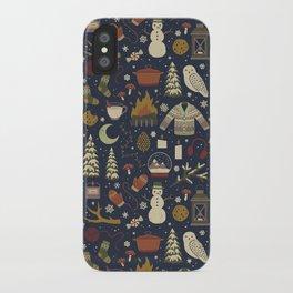 Winter Nights iPhone Case