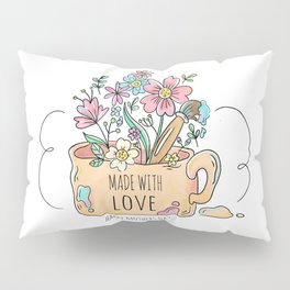 Happy Mother's Day - Made with Love -  Pillow Sham