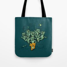 Zombie Cats Tote Bag