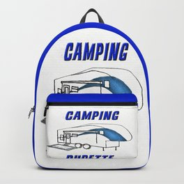 Camping Dudette Backpack