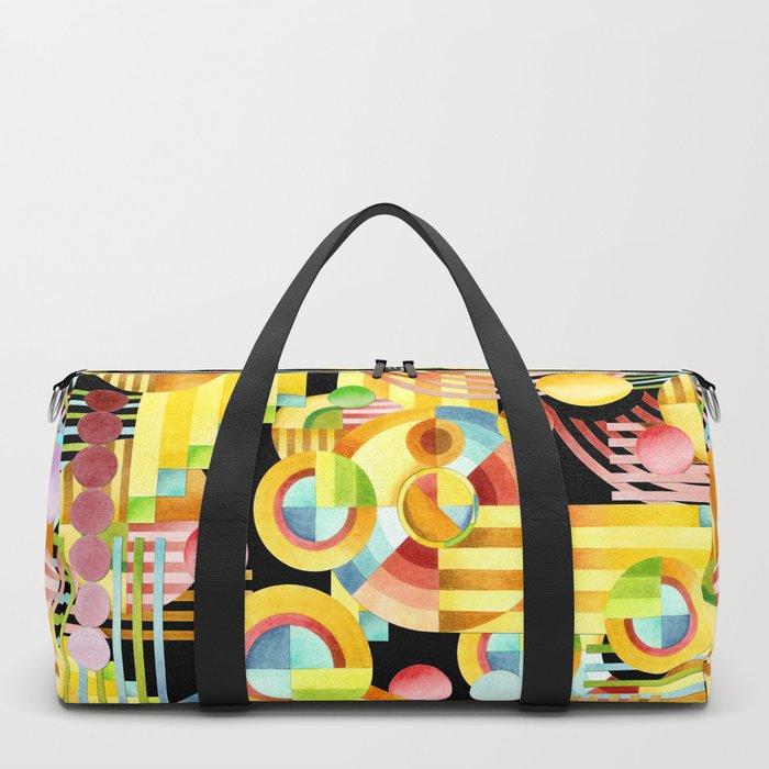 Art Deco Maximalist Duffle Bag