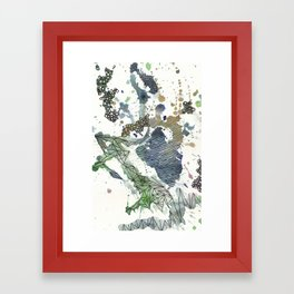Strings Framed Art Print