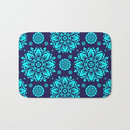 PATTERN ART04-Blue Bath Mat