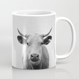 Cow - Black & White Coffee Mug