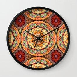 mandala#31 Wall Clock