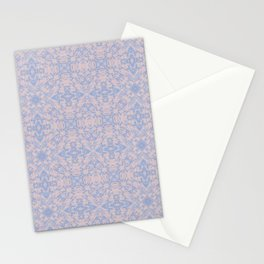 Light pink and blue tapestry 4635 Stationery Cards