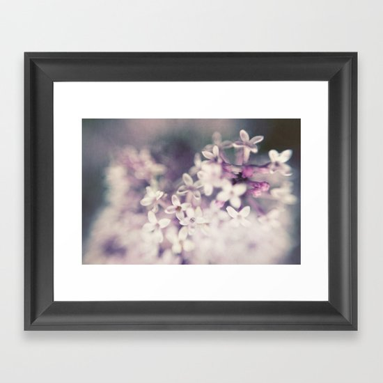 Lilac Haze Framed Art Print