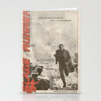 blade runner Stationery Cards featuring Blade Runner by JAGraphic