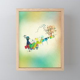 I Heart Life Framed Mini Art Print