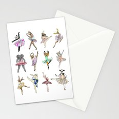 Animal Square Dance Stationery Cards