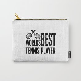 Worlds Best Tennis Player   Sports Gift Idea Carry-All Pouch