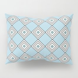 Cool Squares Pillow Sham