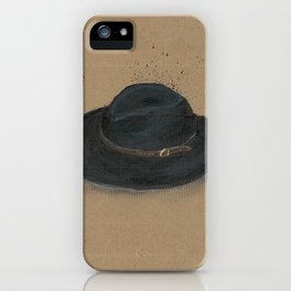 My Fedora is a thing I use to define myself iPhone Case