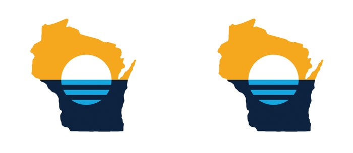 Wisconsin - People's Flag of Milwaukee Coffee Mug