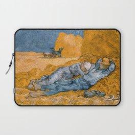 "Vincent van Gogh - Noon Rest From Work (A ""Copy"" of a Jean-François Millet Work) Laptop Sleeve"