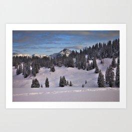 Berner Oberland Art Print