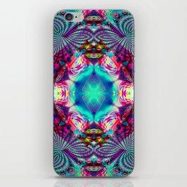 modern mandala pst iPhone Skin
