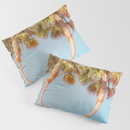 Lovers Palm Trees  {Rainbow Edition} with Light leak Pillow Sham