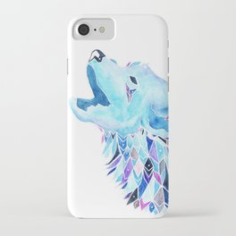 The Howling Wolf iPhone Case