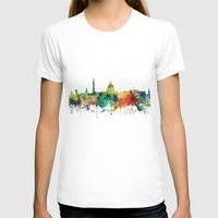 washington dc T-shirts featuring Washington, DC Skyline SP by Marlene Watson