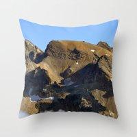 spiritual Throw Pillows featuring Spiritual Healing by Jérémy Boes