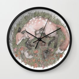 Rest and Respite Wall Clock