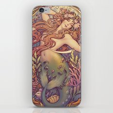 Andersen Little Mermaid Nouveau iPhone Skin