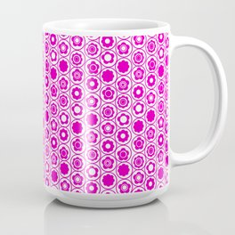 Geo Mini Collection 17 Hot Pink Flower Coffee Mug