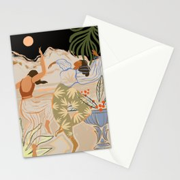 Dance under the Moonlight Stationery Cards