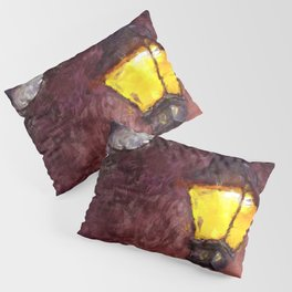 Lamp And Moon Pillow Sham