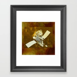 CatCurios 04C Framed Art Print
