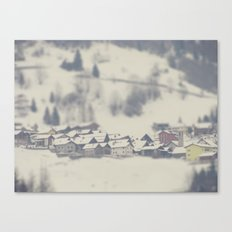Swiss Homes Canvas Print