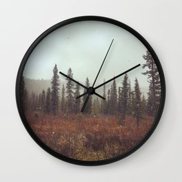 Alaskan Wonderland Wall Clock