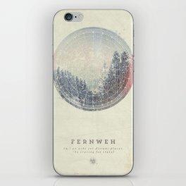 Fernweh Vol 2 iPhone Skin