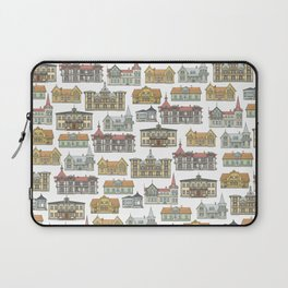 Wooden houses of Hjo Laptop Sleeve