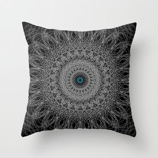 Nexus N°38bis Throw Pillow