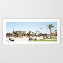 Temple of Luxor, no. 24 Art Print
