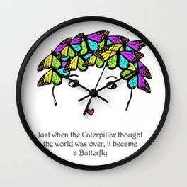 Just When Wall Clock