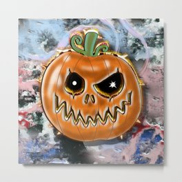 Gel pumpkin from hell v2 Metal Print
