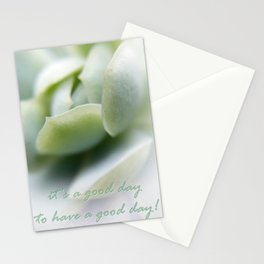 It's a good day Stationery Cards