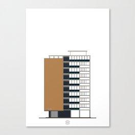 Edificio Terepaima Canvas Print